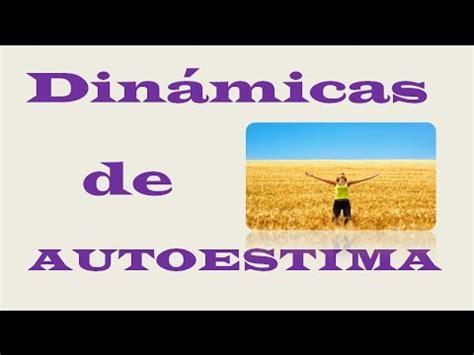 Dinamicas De Autoestima   YouTube