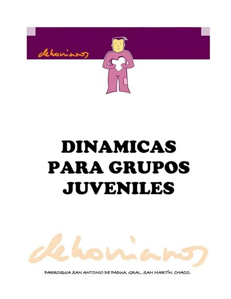 Dinamicas Para Grupos Juveniles by rudox via slideshare ...