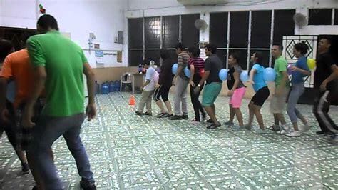 Dinamicas para jovenes | El tren con globos   YouTube