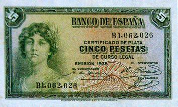 dinero republicano 1939
