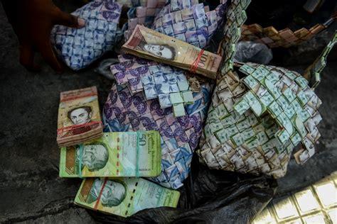 Dinheiro é matéria prima para artesanato na Venezuela O ...
