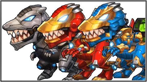 Dino Bot iron T Rex   3 Armor   Full 30 LeveL Game Play ...