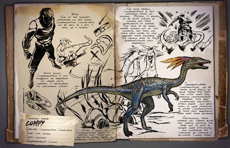 Dino Dossier: Compsognathus Curiosicarius aka Compy   ARK ...