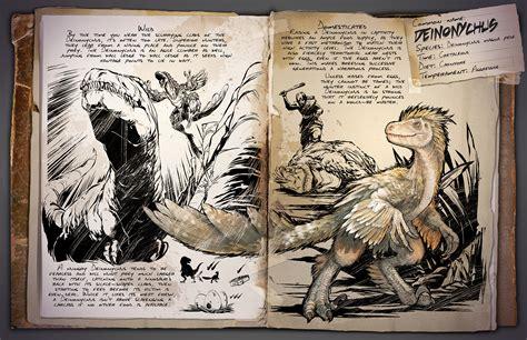 Dino Dossier: Deinonychus   ARK: Survival Evolved