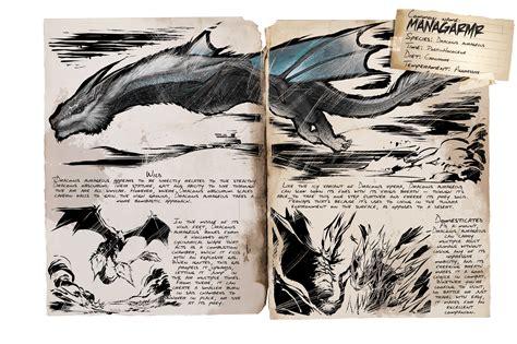Dino Dossier: Managarmr   ARK: Survival Evolved