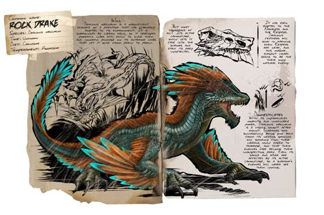 Dino Dossier: Rock Drake   ARK: Survival Evolved