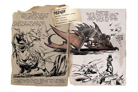 Dino Dossier: Seeker   ARK: Survival Evolved
