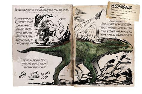 Dino Dossier: Velonasaur   ARK: Survival Evolved
