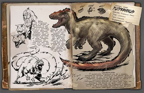 Dino Dossier: Yutyrannus   ARK: Survival Evolved