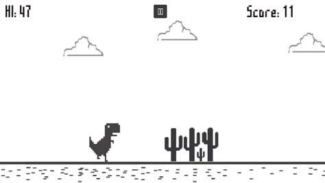 Dino Run   Offline Chrome Game APK Download   Free Arcade ...