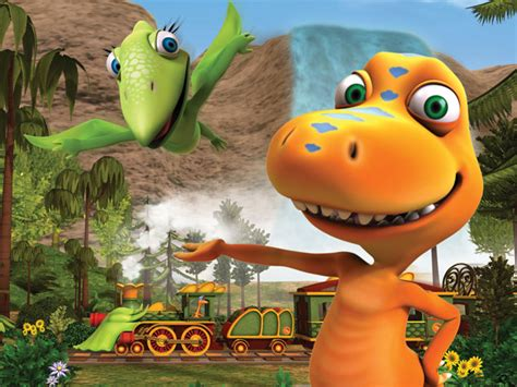Dino Tren, una serie para aprender dinosaurios
