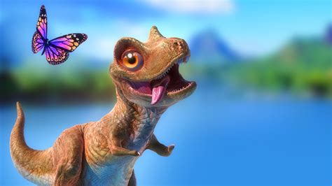 Dinosaur Cartoon for Kids   Pangea Demo   Animation Film ...