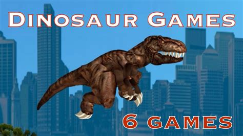 Dinosaur Games Videos for Kids Youtube Online Games With ...