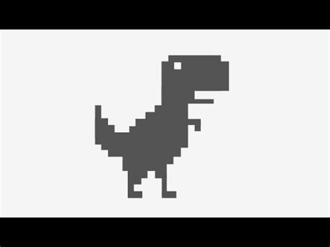 dinosaur google no internet connection secret games hidden ...