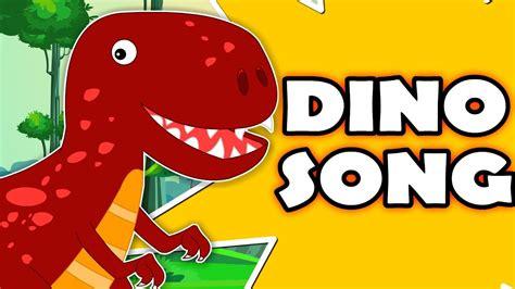 Dinosaur Song | Original Nursery Rhymes For Kids | Cartoon ...