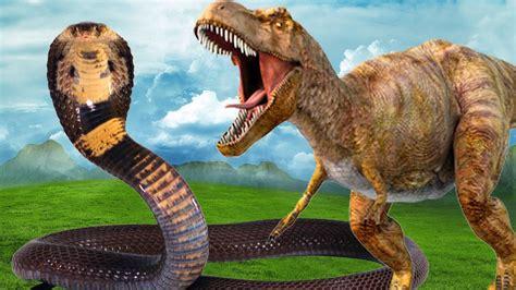 Dinosaur Vs Anaconda Real Fight Dinosaurs Fighting ...