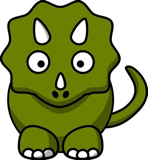 Dinosaurio Triceratops · Gráficos vectoriales gratis en ...