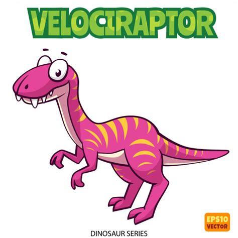 Dinosaurio velociraptor | Descargar Vectores Premium