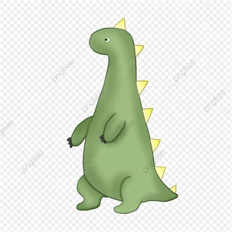 Dinosaurio Verde Dinosaurio Lindo Ilustración De Dibujos ...