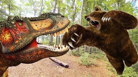 dinosaurio vs batalla del oso | películas de dinosaurios ...