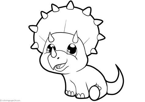Dinosaurios 39 | Dibujos para Colorear 24