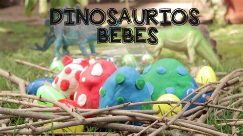 Dinosaurios Bebé Huevos Sopresa Play doh en Español   YouTube