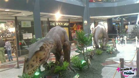 Dinosaurios en el centro comercial arturo soria plaza ...