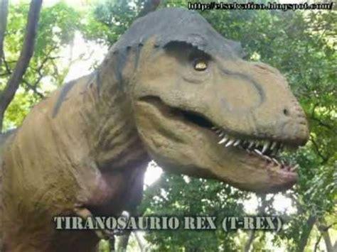 Dinosaurios en el Parque / Dinosaurs in the Park   YouTube
