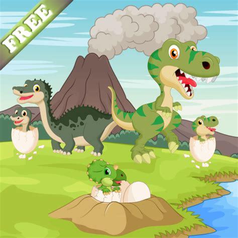 Dinosaurios juego para niños pequeños y niños : descubrir ...