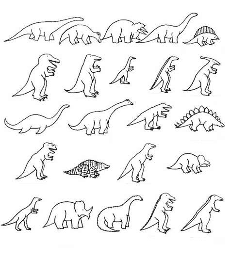 Dinosaurios para colorear: Especies de dinosaurios para ...