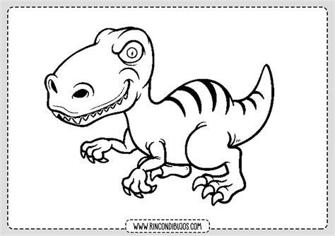 Dinosaurios para Colorear   Rincon Dibujos