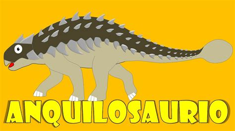 Dinosaurios para niños: Anquilosaurio   Ankylosaurus para ...