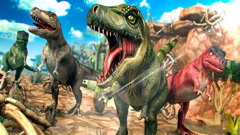 Dinosaurios para Niños   Carrera Jurasica   Dibujos y ...