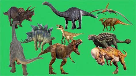 Dinosaurios para niños  Dinosaurio de los numeros del 1 ...