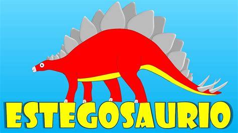 Dinosaurios para niños: el estegosaurio   Stegosaurus para ...