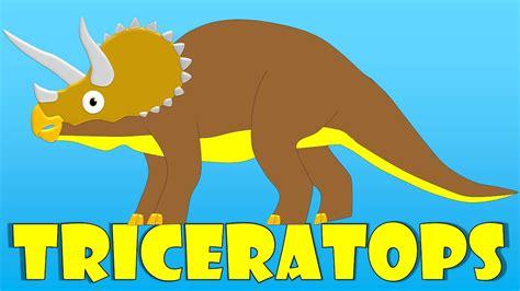 Dinosaurios para niños: El triceratops   El Triceratops ...