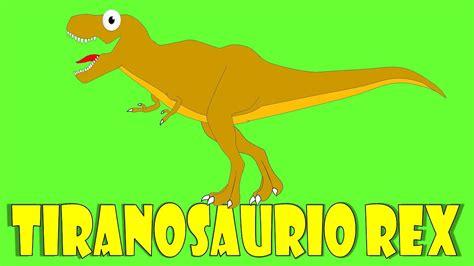 Dinosaurios para niños: El Tyrannosaurus rex ...