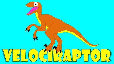 Dinosaurios para niños: El velociraptor   Velociraptor ...