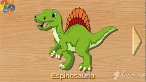 Dinosaurios para niños en español /Dinosaurs names in ...