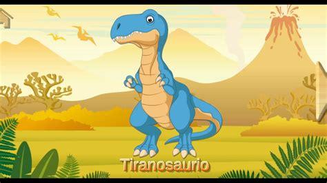Dinosaurios para niños, nombres de 24 tipo de dinosaurios ...