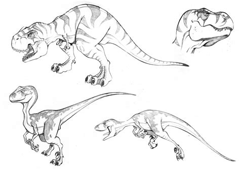 Dinosaurios rex para colorear   Imagui