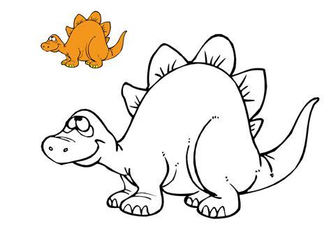 Dinosaurios y Dragones. Dibujos para colorear