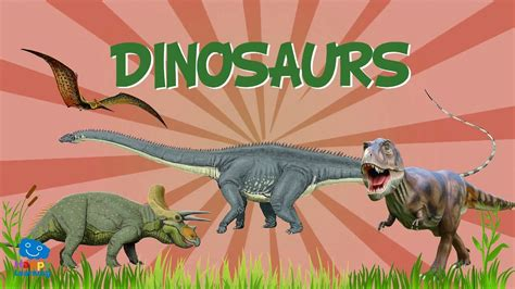 DINOSAURS: all you need to know | Educational Videos for ...