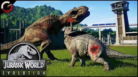 DINOSAURS FIGHTING BATTLE ARENA! Most Epic DINO Fight ...