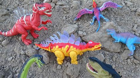 Dinosaurs Mountain Adventure! Learn Dinosaur Names For ...