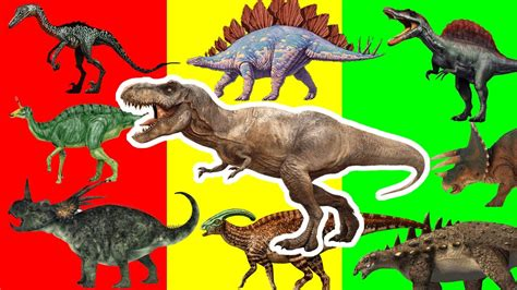 Dinosaurs Names For Children | Dinosaurs Names & Sounds ...
