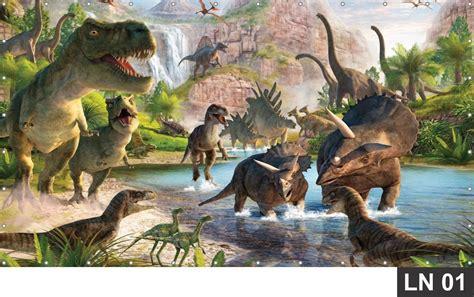 Dinossauros Painel 2,00x1,00 Lona Frete Grátis Aniversário ...