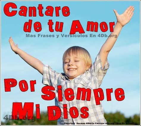 Dios Es Bueno Frases Y Reflexiones Cantare De Tu Amor Por ...