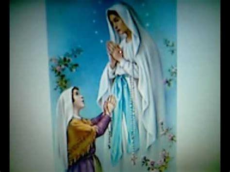 Dios te Salve Maria  Oracion de la Virgen, Rezada   YouTube