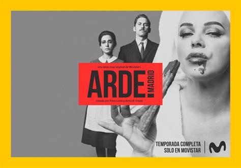 Diponible en Movistar + la serie  ARDE MADRID  con Rulo ...